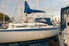 Spinola  -   Built 1976,  Twin keel,  Sail no   3055Y,  Lymington,  Sailing area Solent  -  for sale on ebay 2019