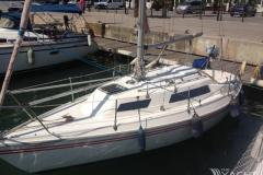 tumeegum  -  Built 1978,  Fin keel,  Sail no   ?,  For sale Barcelona  Spain